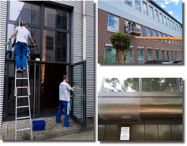Glasreinigung und Fassadenreinigung in Kempen und Umgebung